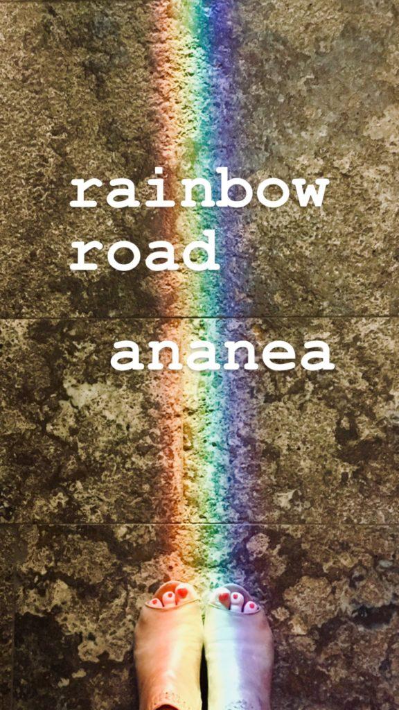 Buchcover rainbow road